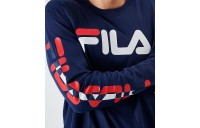 Men's Fila Cliff Long-Sleeve T-Shirt Navy Sales