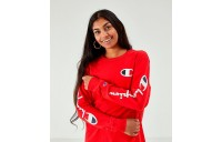 Women's Champion Long-Sleeve T-Shirt Scarlet Sales