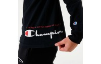 Men's Champion MCMXIX Long-Sleeve T-Shirt Black Sales