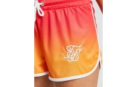 Women's SikSilk Fade Athletic Shorts Orange Sales