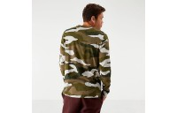 Men's Nike Sportswear Camo Long-Sleeve T-Shirt Light Bone/Olive Sales