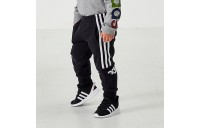 Boys' Toddler and Little Kids' adidas Core Linear Logo Jogger Pants Black Sales