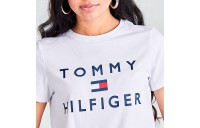 Women's Tommy Hilfiger Logo T-Shirt White Sales