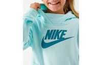 Girls' Nike Sportswear Essential Hoodie Teal Tint Sales