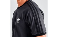 Men's adidas Originals 3-Stripes California T-Shirt Carbon Sales