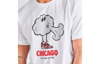 Men's Jordan Character City Chicago T-Shirt White Sales