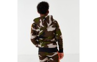 Boys' Jordan Jumpman Air Fleece Camo Full-Zip Hoodie Olive/Camo Sales
