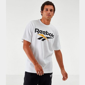 Men's Reebok Classics Vector T-Shirt White Sales