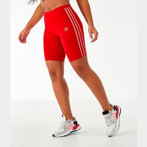 Women's adidas Originals Bike Shorts Scarlet Sales