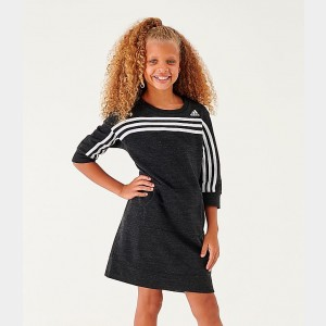 Girls' adidas Athletics Dress Black Sales