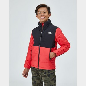 Kids' The North Face Balanced Rock Insulated Jacket Scarlet Sales
