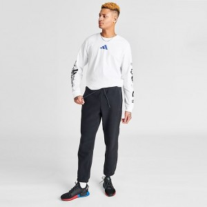 Men's adidas Originals Polar Fleece Jogger Pants Black Sales