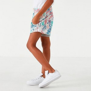 Girls' adidas Originals Floral Shorts Multicolor/White Sales
