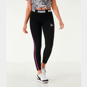 Women's Puma Tape Leggings Black Sales