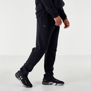Men's Under Armour Rival Fleece Jogger Pants Black/Black Sales