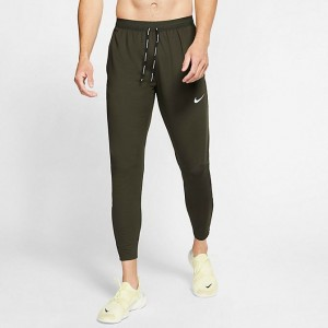 Men's Nike Phenom Elite Knit Training Pants Dark Olive Sales