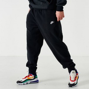 Men's Nike Sportswear Winterized Fleece Jogger Pants Black Sales