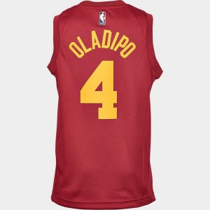 Kids' Nike Indiana Pacers NBA Victor Oladipo Hardwood Classics Swingman Jersey Team Colors Sales