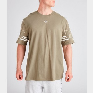 Men's adidas Originals Spirit Outline T-Shirt Trace Cargo Sales