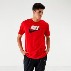 Men's Nike Sportswear Brand Mark T-Shirt University Red Sales