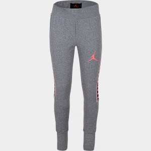 Girls' Jordan Dri-FIT Glitch Leggings Grey/Pink Sales
