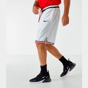 Men's Nike Dri-FIT DNA Basketball Shorts White/Black Sales