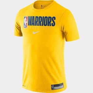 Men's Nike Golden State Warriors NBA Practice T-Shirt Amarillo Sales