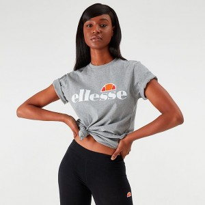 Women's Ellesse Albany T-Shirt Grey Sales