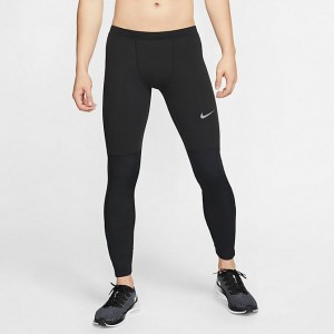 Men's Nike Therma Repel Running Tights Black Sales