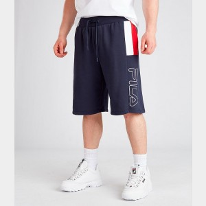 Men's Fila Ajay Shorts Navy Sales