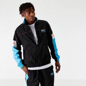 Men's Puma x Tetris Track Jacket Black/Blue Sales