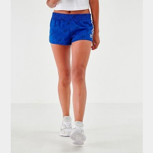Women's adidas Mono Athletic Shorts Mystery Blue Sales