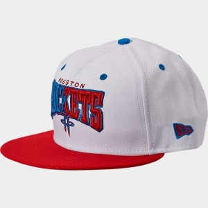 New Era Houston Rockets NBA Split Color 9FIFTY Snapback Hat  Sales