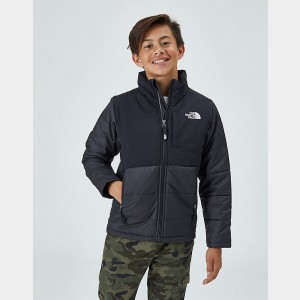 Kids' The North Face Balanced Rock Insulated Jacket Black Sales