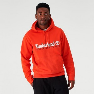 Men's Timberland EST 1973 Hoodie Spicy Orange Sales