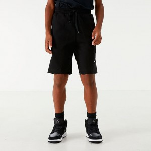 Boys' Jordan Jumpman Air Fleece Shorts Black Sales
