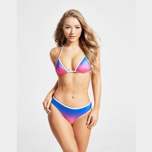 Women's SikSilk Fade Bikini Bottom Blue Sales
