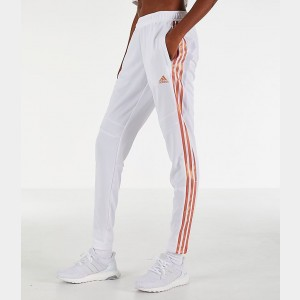 Women's adidas Tiro Training Pants White/Gold Sales
