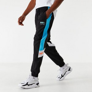 Men's Puma x Tetris Track Pants Black/Blue Sales