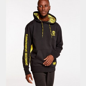 Men's Timberland x SpongeBob SquarePants Hoodie Black Sales
