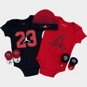 Infant Jordan 23 5-Piece Box Set Red/Black Sales