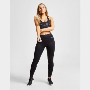 Women's Pink Soda Sport Core Fitness Leggings Black Sales