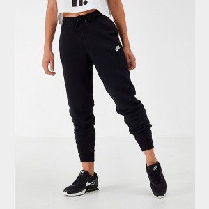 Women's Nike Sportswear Essential Jogger Pants Black Sales