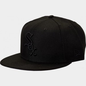 New Era Chicago White Sox MLB 9FIFTY Snapback Hat Black Sales
