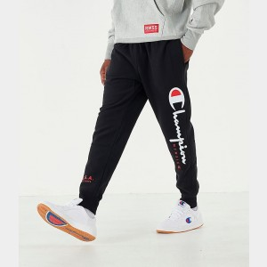 Men's Champion MCMXIX Jogger Pants Black Sales