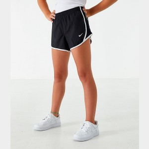 Girls' Nike Dry Tempo Running Shorts Black/White Sales