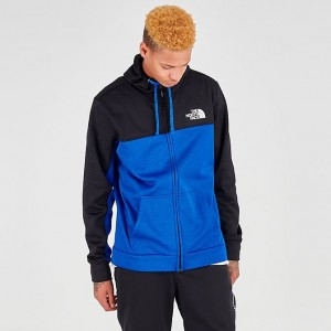 Men's The North Face Surgent Bloc 2.0 Full-Zip Hoodie TNF Black/Blue Sales