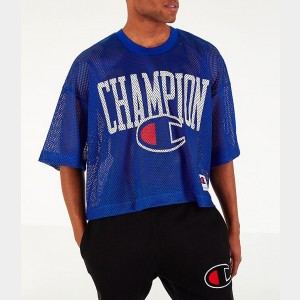 Men's Champion Mesh Football Jersey T-Shirt Surf the Web Sales