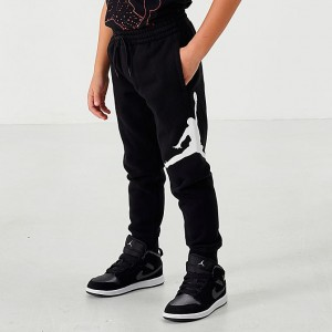 Boys' Little Kids' Jordan Jumpman Logo Jogger Pants Red/Black Sales