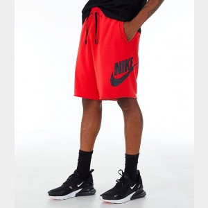 Men's Nike Sportswear Alumni Fleece Shorts University Red/Black Sales